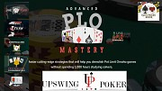 UPSWING ADVANCED PLO MASTERY With Dylan Weisman and Chris Wehner - Premium Courses Cheap Москва