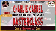 CHARLIE CARREL EPIPHANY MASTERCLASS FOR SMALL LIMITS Москва